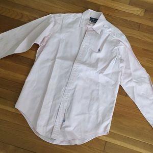 Men's Medium Pink Long Sleeved Buttonup